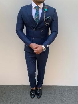 Slim Fit Kruaveze Spor Takım Elbise Parlıament