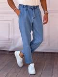 Boyfriend(rahat kalıp) Buz Mavisi Kot Pantolon